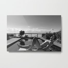 Soak Up The Sun Metal Print
