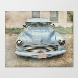 Mercury Blues Canvas Print