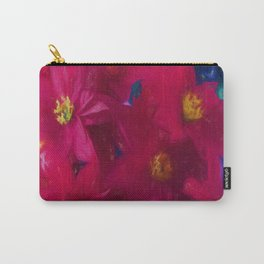 Poinsettia Abstract Carry-All Pouch