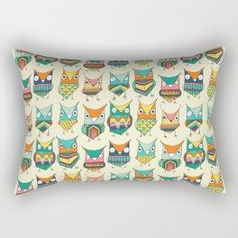 Give a hoot Rectangular Pillow