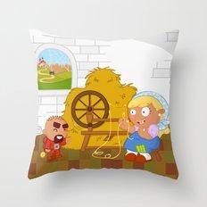 Rumpelstiltskin Throw Pillow