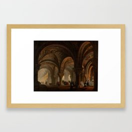 Pantheon of Kings of Leon AVRIAL AND FLORES, JOSÉ MARÍA Framed Art Print