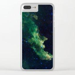 Witch Head Nebula Clear iPhone Case