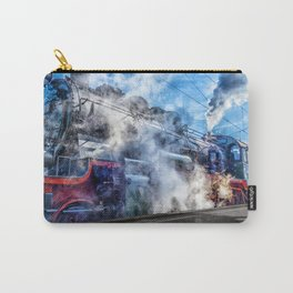 Steam Locomotive (Train) Carry-All Pouch