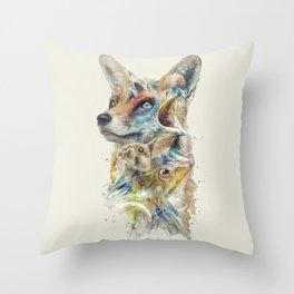 Heroes of Lylat Starfox Inspired Classy Geek Painting Throw Pillow