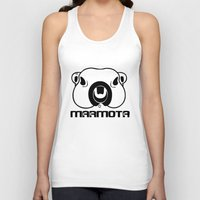 philosophy Tank Tops featuring Marmota Philosophy by Hesto