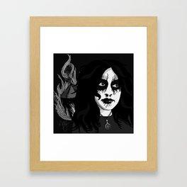 Fvck Capitali$m Framed Art Print