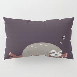 Sloth card - good night Pillow Sham