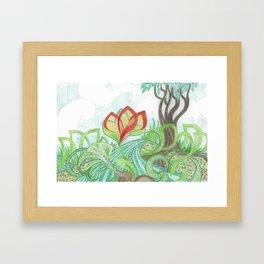 The Bloom Framed Art Print