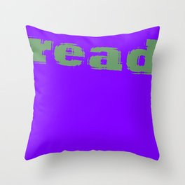 Read Throw Pillow