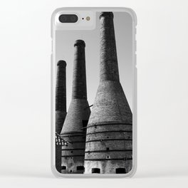 Chimney Stacks Clear iPhone Case