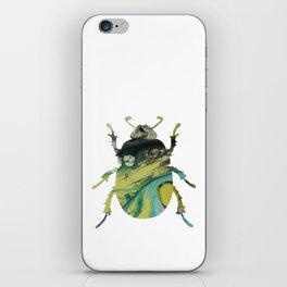 Beetle Scarabaeus iPhone Skin
