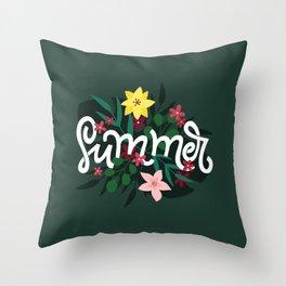 Summer! Throw Pillow