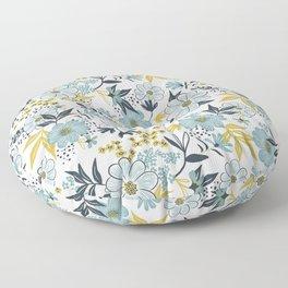 Harper - Dusk Blue Floor Pillow