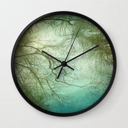 Landscape 8 Wall Clock