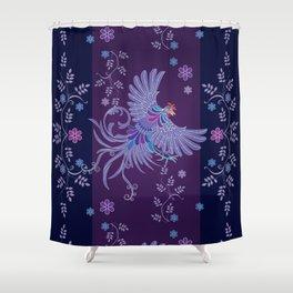 Batik or textile designs Shower Curtain