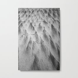 Shapes in the Sand II Metal Print