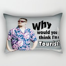 The Tourist Rectangular Pillow