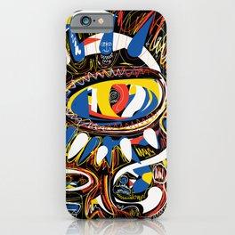 The Third Eye Primitive African Art Graffiti iPhone Case