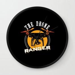 Drone Ranger Wall Clock