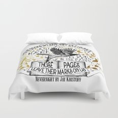 Nevernight - Books Love Us Duvet Cover