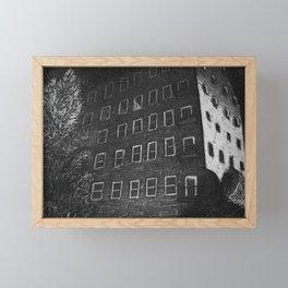 Newmarket Mills Intaglio Print Framed Mini Art Print
