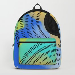 hellebores abstract #2 minimal watercolor Backpack