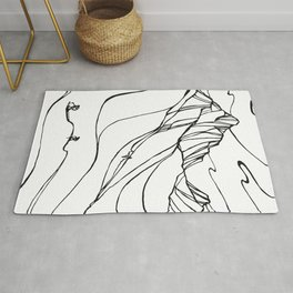 Creating Curves II :: Single Line Rug