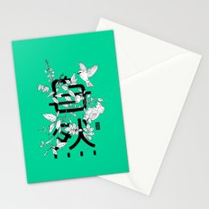 Shizen wrapped in nature Stationery Cards