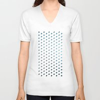 polygon V-neck T-shirts featuring Polygon by Evi Radauscher