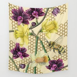 Over the Fence Wall Tapestry