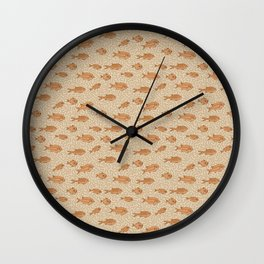 Poisson Rouge Wall Clock