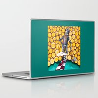 kansas Laptop & iPad Skins featuring We're not in Kansas anymore by Timone
