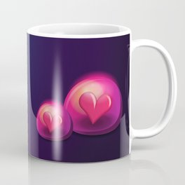 Heart Bubble Coffee Mug