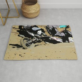 Inside Move - Motocross Racers Rug