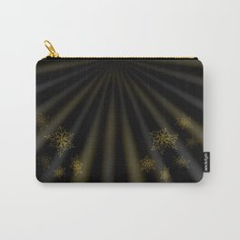 golden stars on dark background Carry-All Pouch