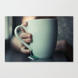tea time. Canvas Print