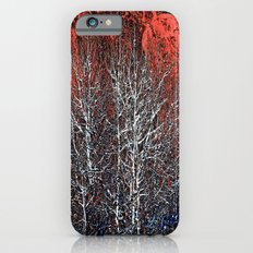 White Trees Red Rocks At Roxborough by OLena Art Slim Case iPhone 6s