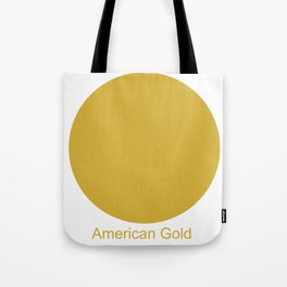 American Gold Tote Bag