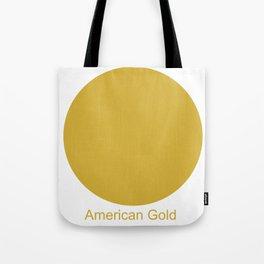 American Gold Tote Bag