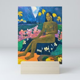12,000pixel-500dpi - Paul Gauguin - The Seed Of The Areoi - Digital Remastered Edition Mini Art Print