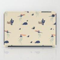 swim iPad Cases featuring Dezert swim by .eg.