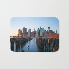 Sunset over Manhattan Bath Mat