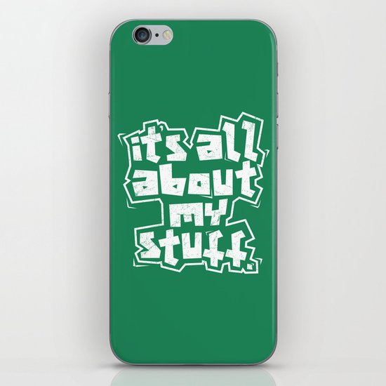All about it. iPhone Skin