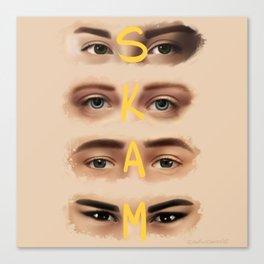 S K A M Canvas Print