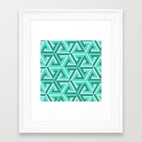 lv Framed Art Prints featuring Geometrix LV by Warwick Wonder Works