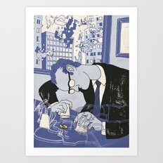HIGH FINANCE Art Print