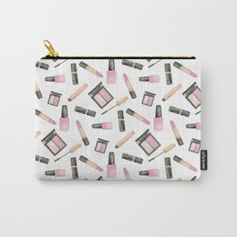 Watercolor beauty product pattern Carry-All Pouch
