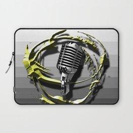 Music - Vocals Laptop Sleeve