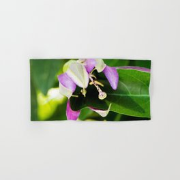 Purple Haze Perfume Passion Flower Alternate Perspective Hand & Bath Towel